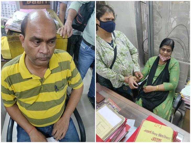 इंदौर में 44 अधिकारी-कर्मचारी सस्पेंड होने के बाद हाजिरी देने आते हैं ट्रेंचिंग ग्राउंड; हाल ही में पकड़ा गया रिश्वतखोर अधीक्षक दो दिन से नहीं जा रहा|इंदौर,Indore - Dainik Bhaskar