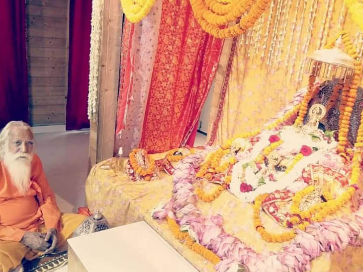 After five hundred years, Ramlala got a silver swing, will sit on this grand swing of 21 kg from Nagpanchami, the trust handed over to the priest | 21 किलो के झूले