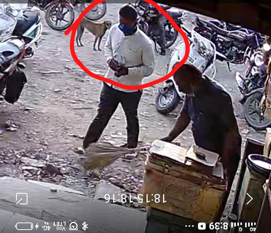 वाइन शॉप का मालिक कलेक्शन के लिए निकला था, दूसरी दुकान में घुसा तो पहली से ली रकम पार कर ले गया चोर चित्तौड़गढ़,Chittorgarh - Dainik Bhaskar