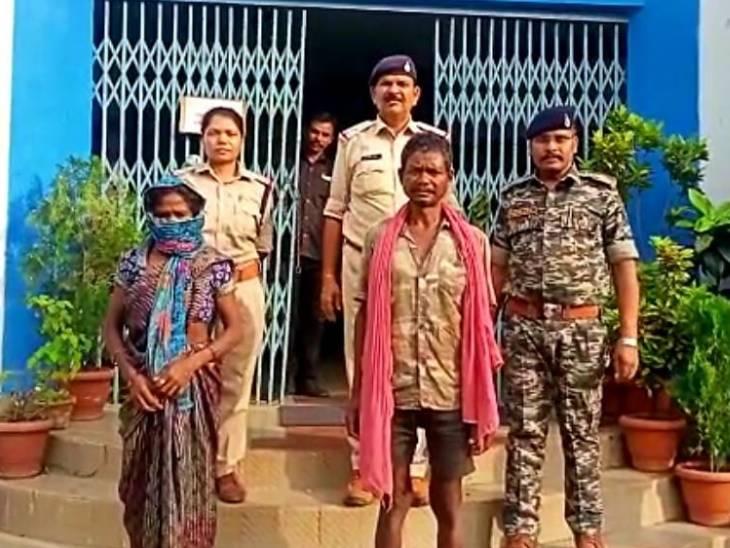 डिंडौरी में बेटे ने आपत्तिजनक हालत में देखा तो मां ने मार डाला, दफना दिया शव; दादा को शक हुआ, 10 दिन बाद सामने आई हकीकत|जबलपुर,Jabalpur - Dainik Bhaskar