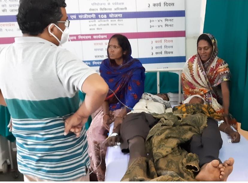 2 मासूम सहित 1 वृद्धा की बिगड़ी हालत, अस्पताल में चल रहा इलाज|छिंदवाड़ा,Chhindwara - Dainik Bhaskar