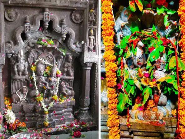 नागचंद्रेश्वर की ये प्रतिमा शिव-शक्ति का साकार स्वरूप है।