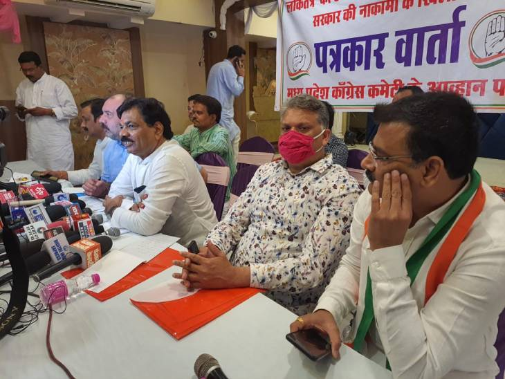 कांग्रेस विधायकों ने लगाए आरोप- सदन में जनहित के मुद्दों पर चर्चा से भाग रही सरकार, अब सड़कों पर उतरेंगे जबलपुर,Jabalpur - Dainik Bhaskar