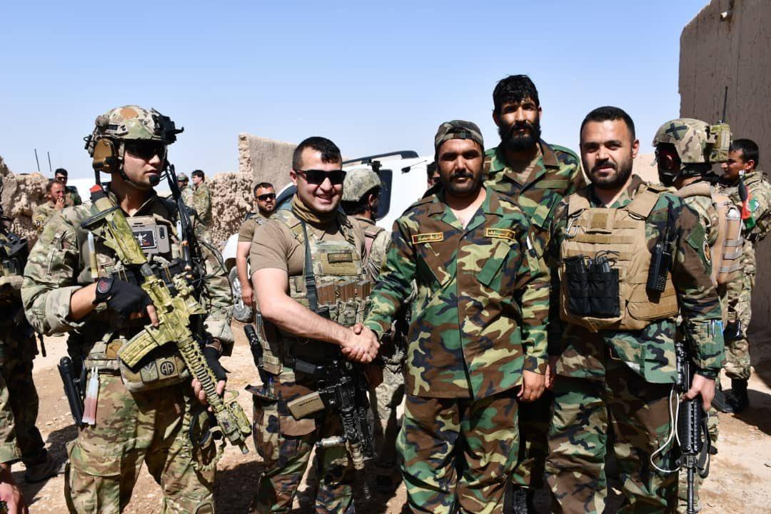जनरल समी सादाद को काबुल की सुरक्षा की जिम्मेदारी दी गई है।