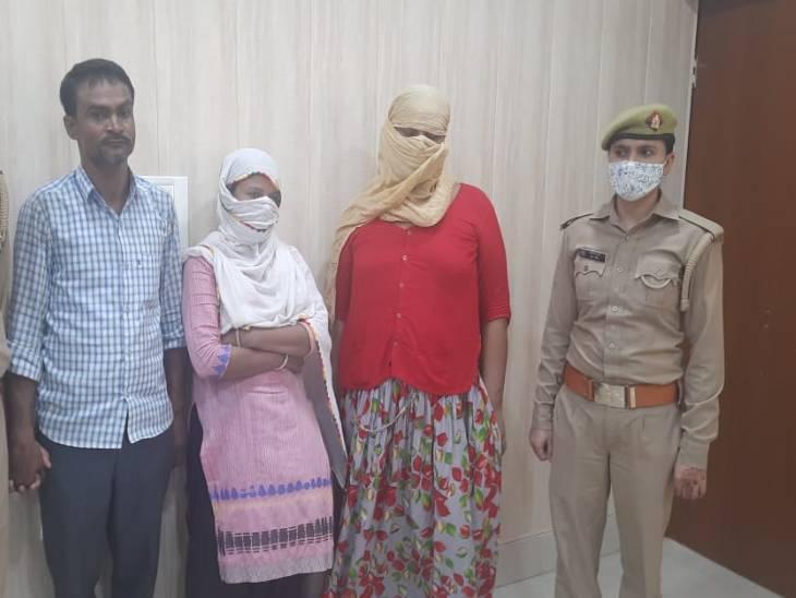 पुलिस ने देह व्यापार करने वाले गिरोह का किया भंडाफोड़, दूसरे राज्य से खरीदकर लाए थे नाबालिग लड़की, एक किन्नर समेत 3 गिरफ्तार|कासगंज,Kasganj - Dainik Bhaskar