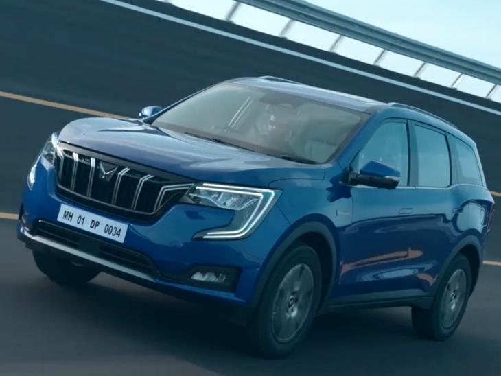 कंपनी ने इसे XUV500 की नई जनरेशन के हिसाब से डिजाइन किया, ड्राइवर सुस्त हो रहा तो कार खुद ही इमरजेंसी ब्रेक का यूज करेगी|टेक & ऑटो,Tech & Auto - Dainik Bhaskar