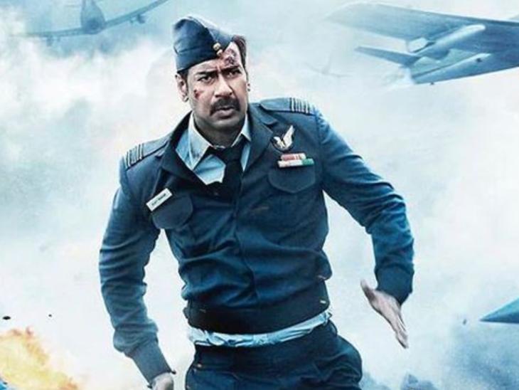 अजय देवगन स्टारर 'भुज: प्राइड ऑफ इंडिया' की अतुल्य देशभक्ति की कहानी मेलोड्रामा के ओवरडोज की हुई शिकार|बॉलीवुड,Bollywood - Dainik Bhaskar