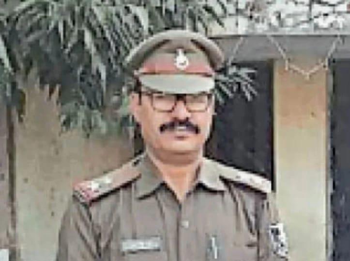 रामपुर थाने के पूर्व प्रभारी एसआई राजन सिंह गुर्जर।