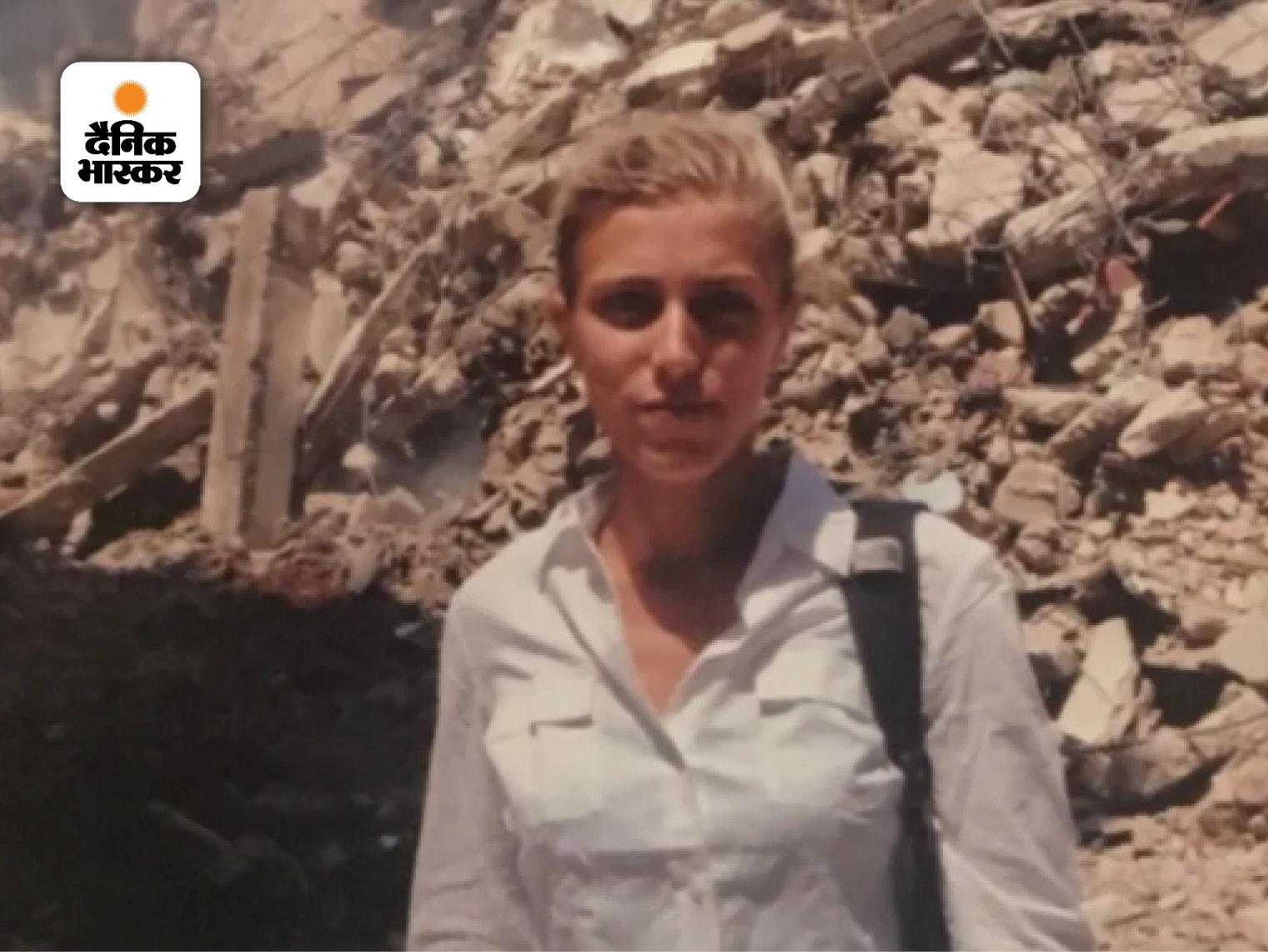 तस्वीर 2006 में बेरूत में ली गई थी, तब क्लैरिसा लेबनान वॉर को कवर कर रही थीं।