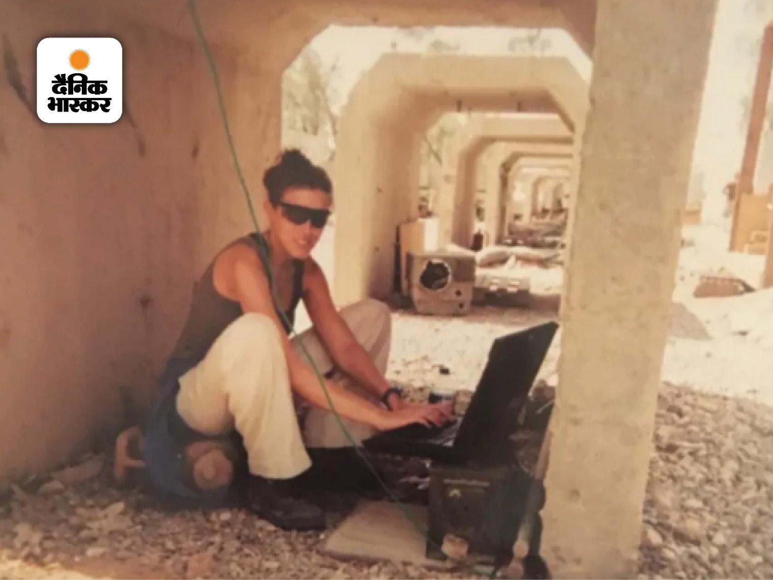 2005 में इराक के मोसुल से रिपोर्टिंग करतीं क्लैरिसा वार्ड।