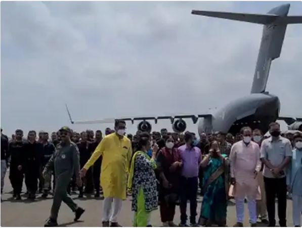 The plane has been brought to India from Iran's airspace.
