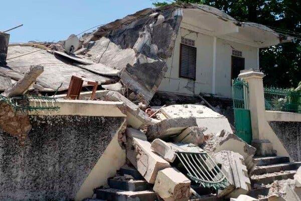 हैती में भूकंप से 1300 मौतें; 2,800 से ज्यादा लोग घायल, डॉक्टरों की भारी कमी से संकट और बढ़ गया|विदेश,International - Dainik Bhaskar