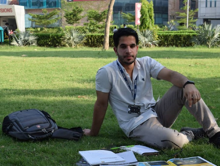 Muzamil Sabir hails from Kunduz province of Afghanistan and has been living in Pune for the last three years.