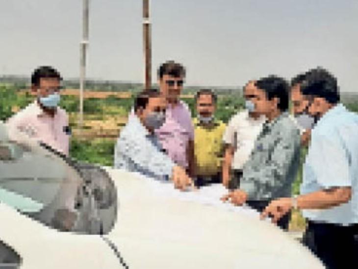 दिल्ली की कंपनी 150 करोड़ का निवेश करने को तैयार, खुर्द और सीतापुर कोरिडोर में देखी जमीन|मुरैना,Morena - Dainik Bhaskar