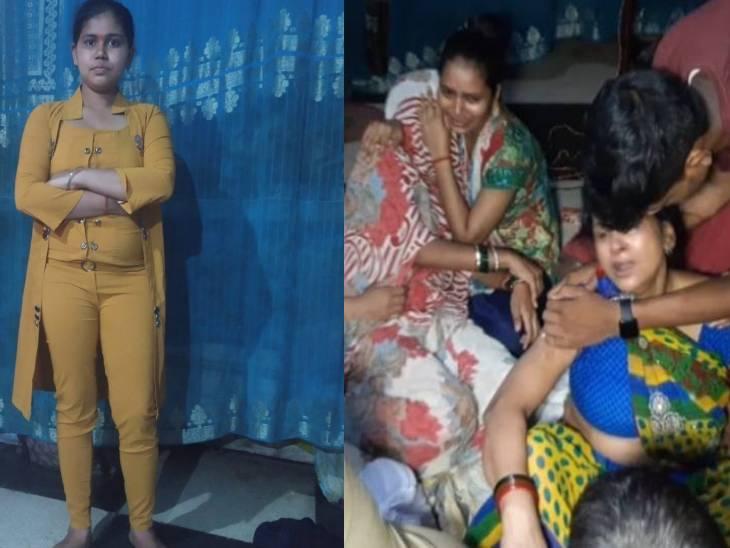 शादी की बात कहीं और न चलने से नाराज थी, फांसी लगाकर की आत्महत्या|इटावा,Etawah - Dainik Bhaskar