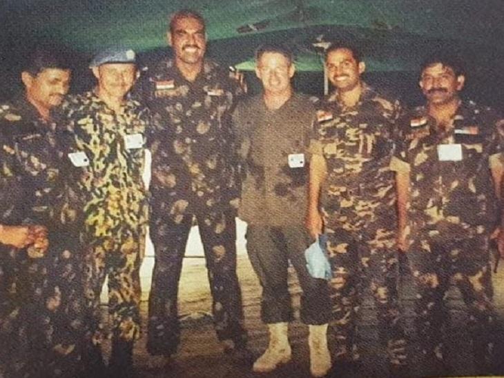 ऑपरेशन के दौरान भारतीय सेना के जवान।