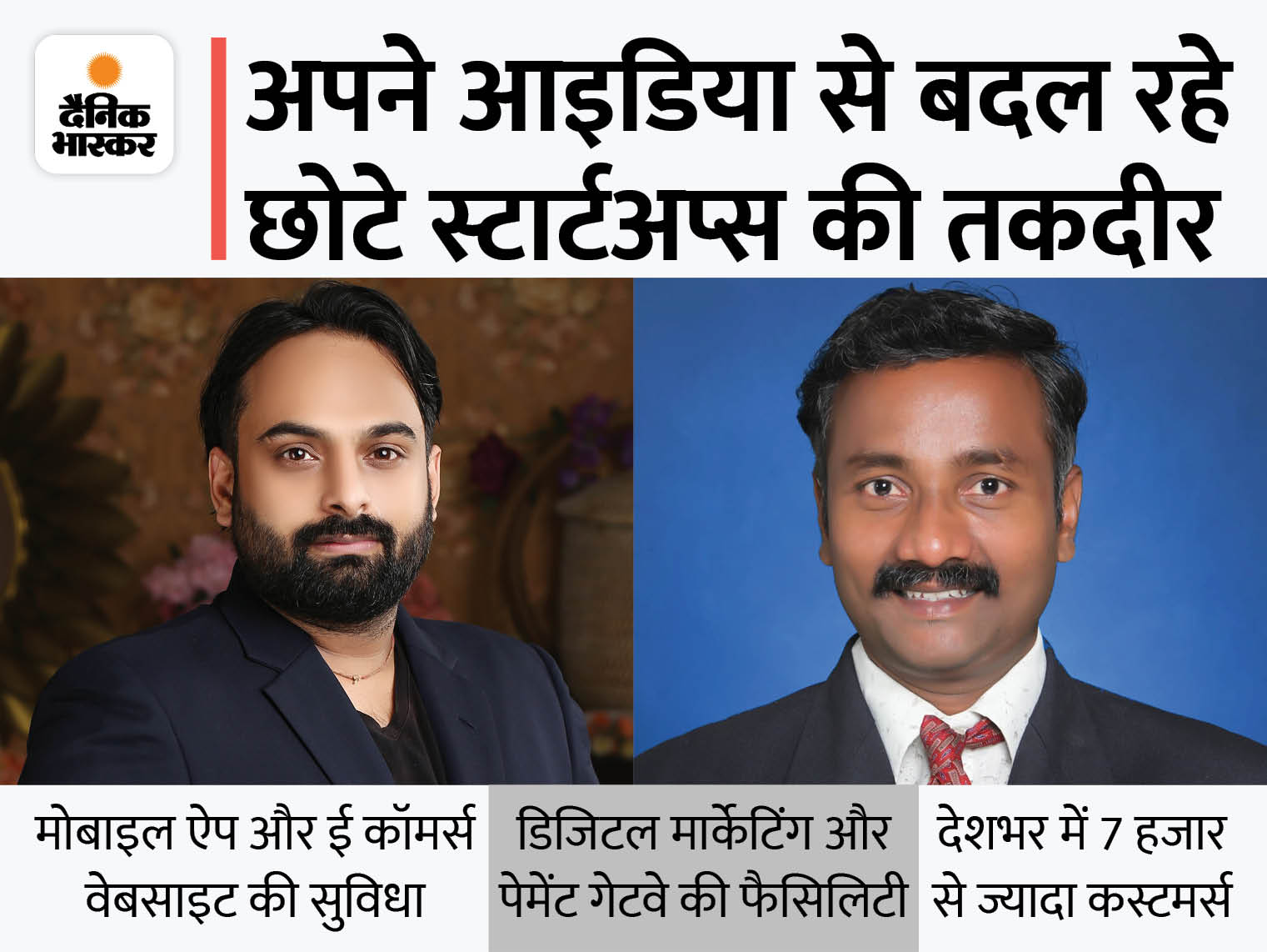 MP के अभिनव ने लॉकडाउन में दोस्त के साथ 50 हजार रुपए की लागत से खुद का स्टार्टअप शुरू किया, पहले ही साल 40 लाख रु. का टर्नओवर|DB ओरिजिनल,DB Original - Dainik Bhaskar