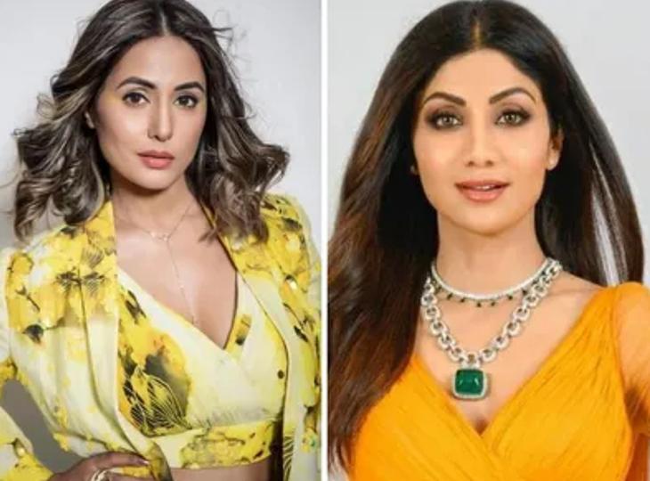 'सुपर डांसर चैप्टर 4' की शूटिंग पर लौटीं शिल्पा शेट्टी का सामने आया वीडियो, हिना खान ने सोशल मीडिया पर बढ़ाया एक्ट्रेस का हौसला|टीवी,TV - Dainik Bhaskar