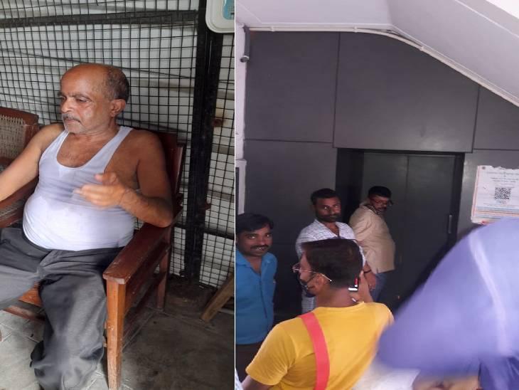 स्टाफ ने कड़ी मशक्कत से आधे घंटे बाद निकाला, बदहवास हालत में अस्पताल में कराया भर्ती; कहा- कभी भी हो सकता है बड़ा हादसा लखनऊ,Lucknow - Dainik Bhaskar