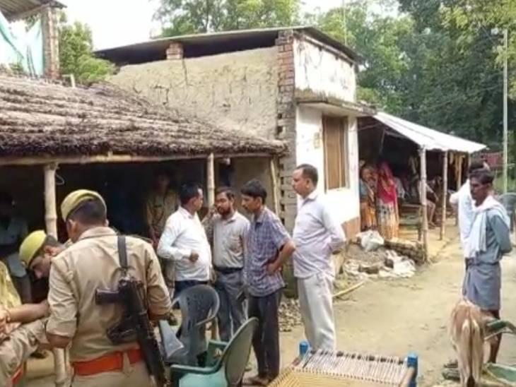 शाम से लापता थी, गन्ने के खेत में मिला शव, रस्सी से गला घोंटकर मारा गया, 4 लोग हिरासत में|सीतापुर,Sitapur - Dainik Bhaskar
