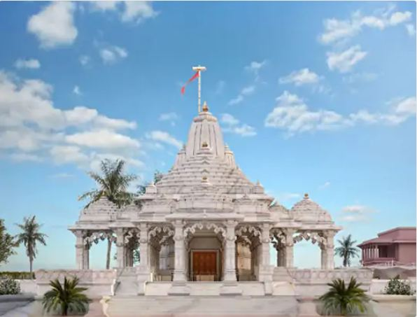 Design of Parvatiji temple being built at a cost of Rs 30 crore.