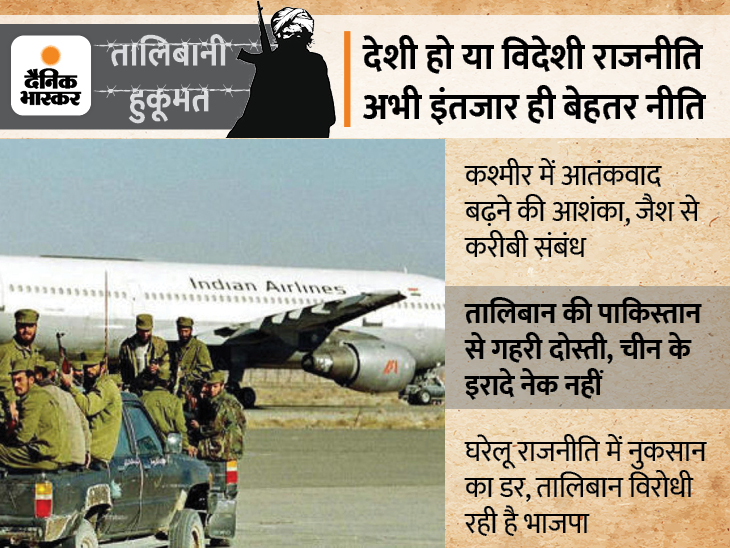 काबुल में हमें तालिबान कबूल या नहीं; भारत इस पर अब तक चुप क्यों, जानिए उस मुल्क में ऐसा क्या लगा है दांव पर?|DB ओरिजिनल,DB Original - Dainik Bhaskar