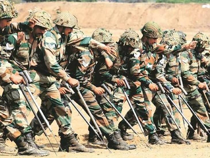 सेना ने पठानकोट में ट्रेनिंग के दौरान सीवियर वेदर कंडीशन को जवान की मौत की वजह बताया है। - Dainik Bhaskar