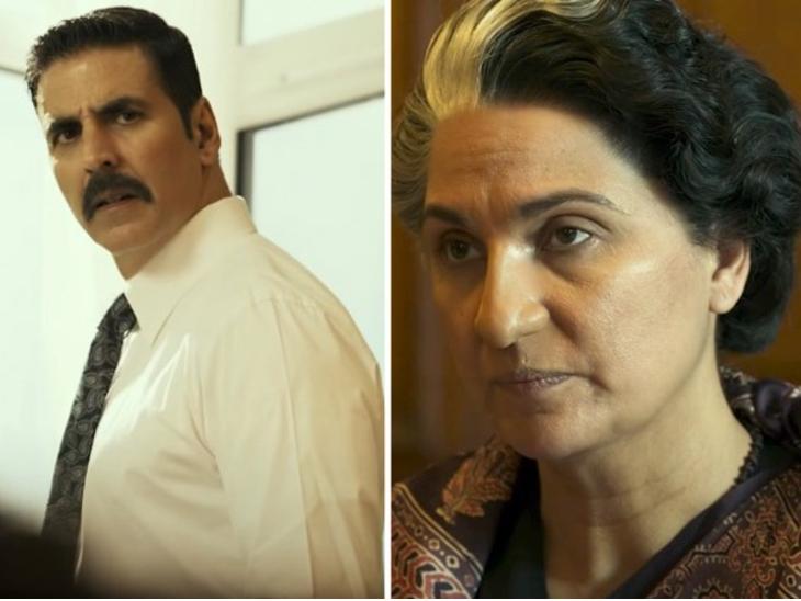 लारा दत्ता को जब अक्षय कुमार ने फिल्म में इंदिरा गांधी की भूमिका निभाने का सुझाव दिया तो वो हंसने लगीं, एक्टर बोले- उन्होंने विश्वास करने से इनकार कर दिया|बॉलीवुड,Bollywood - Dainik Bhaskar