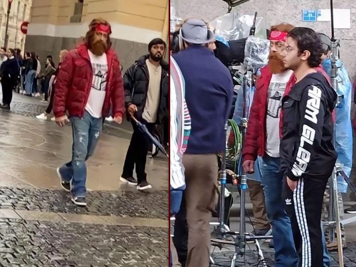 रशिया में टाइगर 3 की शूटिंग कर रहे सलमान खान का पहला लुक आया सामने, गोल्डन दाढ़ी में एक्टर को पहचान पाना है मुश्किल|बॉलीवुड,Bollywood - Dainik Bhaskar