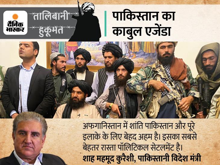 पाकिस्तान के विदेश मंत्री शाह महमूद कुरैशी के काबुल पहुंचने की अटकलें, अफगानिस्तान में स्थिरता के लिए लॉबिंग भी शुरू की|विदेश,International - Dainik Bhaskar