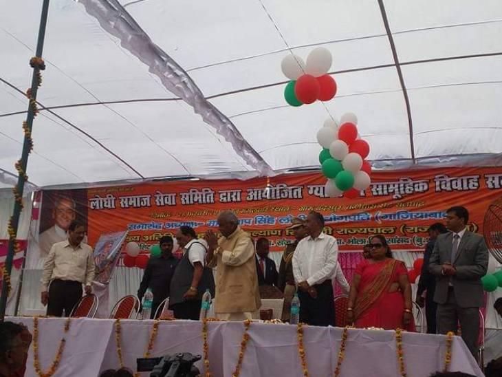 जनसभा में कल्याण सिंह बोले थे, 'अलीगढ़ मेरी जन्मभूमि है और बुलंदशहर मेरी कर्मभूमि' और भावुक हो गए बुलंदशहर,Bulandshahr - Dainik Bhaskar