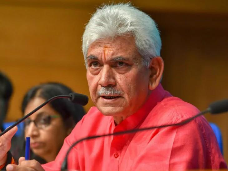 मनोज सिन्हा ने कहा- अगर पाकिस्तान बंदूकों से J&K बंद कराता है, तो क्या गलत है कि हम डंडों का इस्तेमाल करते हैं|देश,National - Dainik Bhaskar