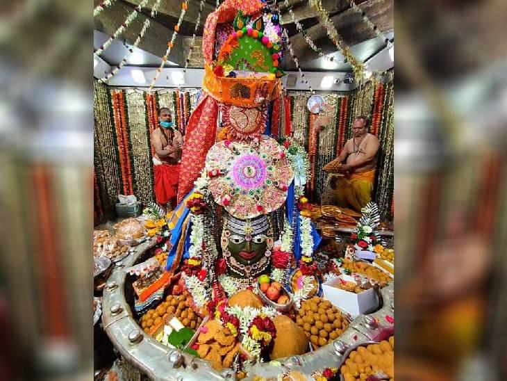 ब्रह्म मुहूर्त में ही बांधी जाती है, सिर्फ इसी दिन भस्मारती भी बाद में होती है; 1 सप्ताह तक सख्त नियमों का पालन कर होती है तैयार उज्जैन,Ujjain - Dainik Bhaskar