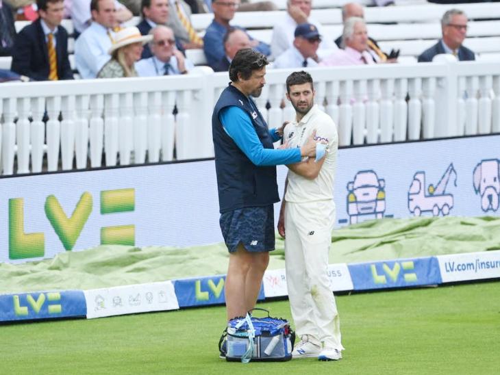 तेज गेंदबाज मार्क वुड कंधे की चोट की वजह से मैच से बाहर हुए, साकिब महमूद कर सकते हैं डेब्यू|क्रिकेट,Cricket - Dainik Bhaskar