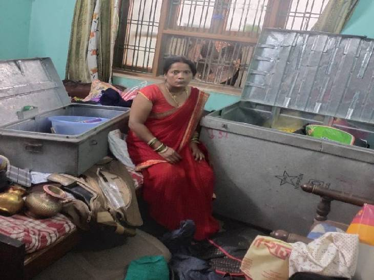 रक्षा बंधन पर परिवार गया था शहर से बाहर, पड़ोसियों ने दरवाजा खुला देख दी अनहोनी की सूचना; उथल-पुथल मिला घर|लखनऊ,Lucknow - Dainik Bhaskar