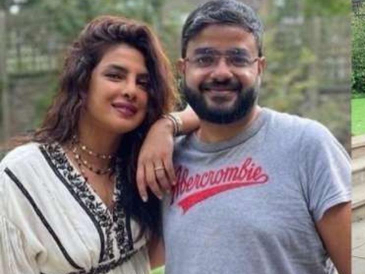 प्रियंका चोपड़ा ने भाई सिद्धार्थ चोपड़ा के साथ सेलिब्रेट किया रक्षाबंधन, लिखा- 5 सालों में पहली बार हम दोनों रक्षाबंधन पर साथ हैं|बॉलीवुड,Bollywood - Dainik Bhaskar