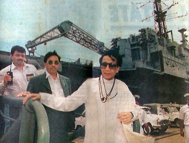 It is said for Narayan Rane that he was on the second position in Shiv Sena after Balasaheb.