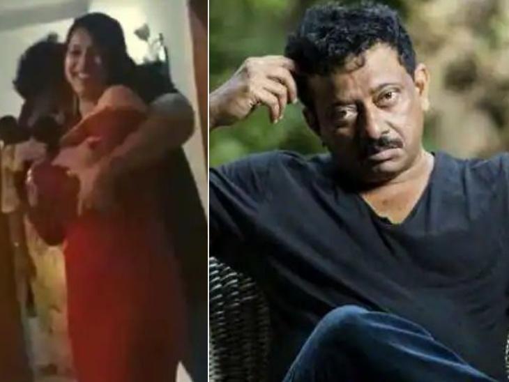 इनाया सुल्ताना के साथ आपत्तिजनक तरीके से डांस कर रहे राम गोपाल वर्मा हुए बुरी तरह ट्रोल, डायरेक्टर ने कहा- ये मैं नहीं हूं|बॉलीवुड,Bollywood - Dainik Bhaskar