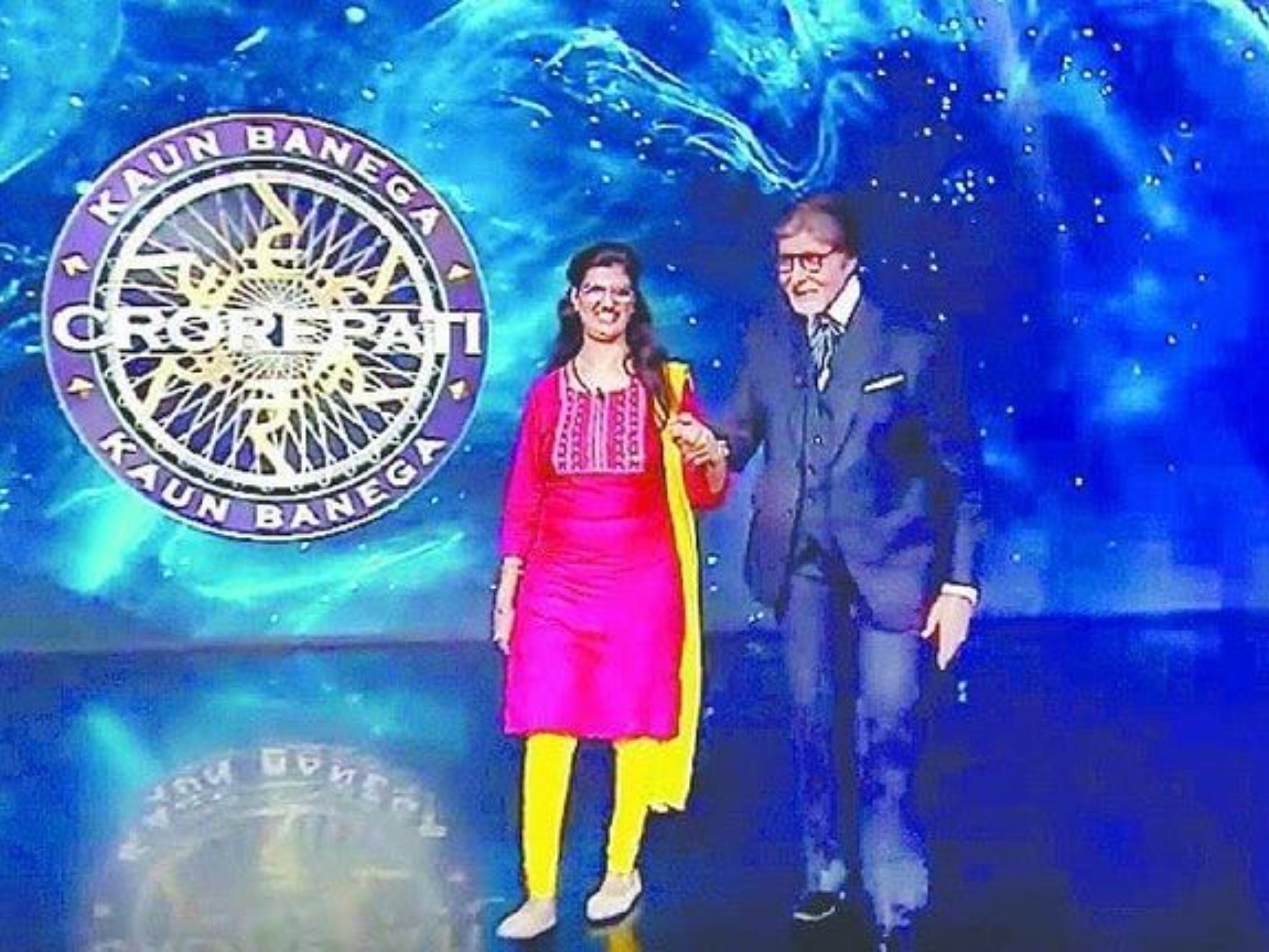 हिमानी बुंदेला बनी कौन बनेगा करोड़पति-13 की पहली करोड़पति, गणित पढ़ाती हैं लेकिन आँखों से देख नहीं सकती|टीवी,TV - Dainik Bhaskar