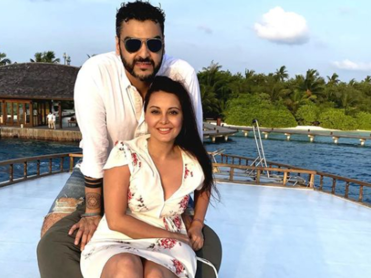 मिनिषा लांबा ने किया बॉयफ्रेंड 'अक्की मल' को बर्थडे विश, लिखा- मैं आपके लिए ढेर सारा प्यार और खुशी की कामना करती हूं|बॉलीवुड,Bollywood - Dainik Bhaskar
