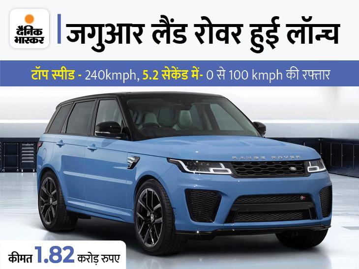 यह कंपनी की सबसे तेज और पावरफुल डिफेंडर SUV होगी, कीमत 1.82 करोड़ रुपए|टेक & ऑटो,Tech & Auto - Dainik Bhaskar