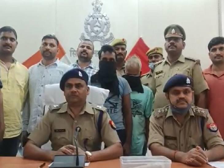 पुलिस ने दो चोरों को किया गिरफ्तार, बाइक, तमंचा व कारतूस हुए बरामद सिद्धार्थनगर,Siddharthnagar - Dainik Bhaskar