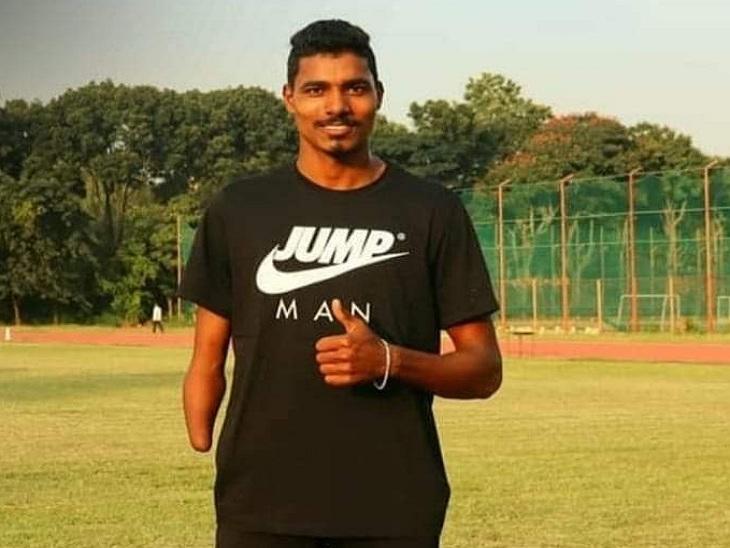 पैरा एथलीट निषाद कुमार।