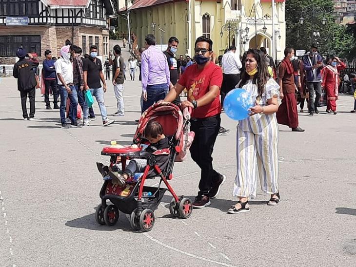 1 लाख करोड़ से ज्यादा की मार्केट है; अब 5 से 10% रह गई पर्यटकों आवक, कोरोना महामारी और लॉकडाउन ने कराया नुकसान|शिमला,Shimla - Dainik Bhaskar