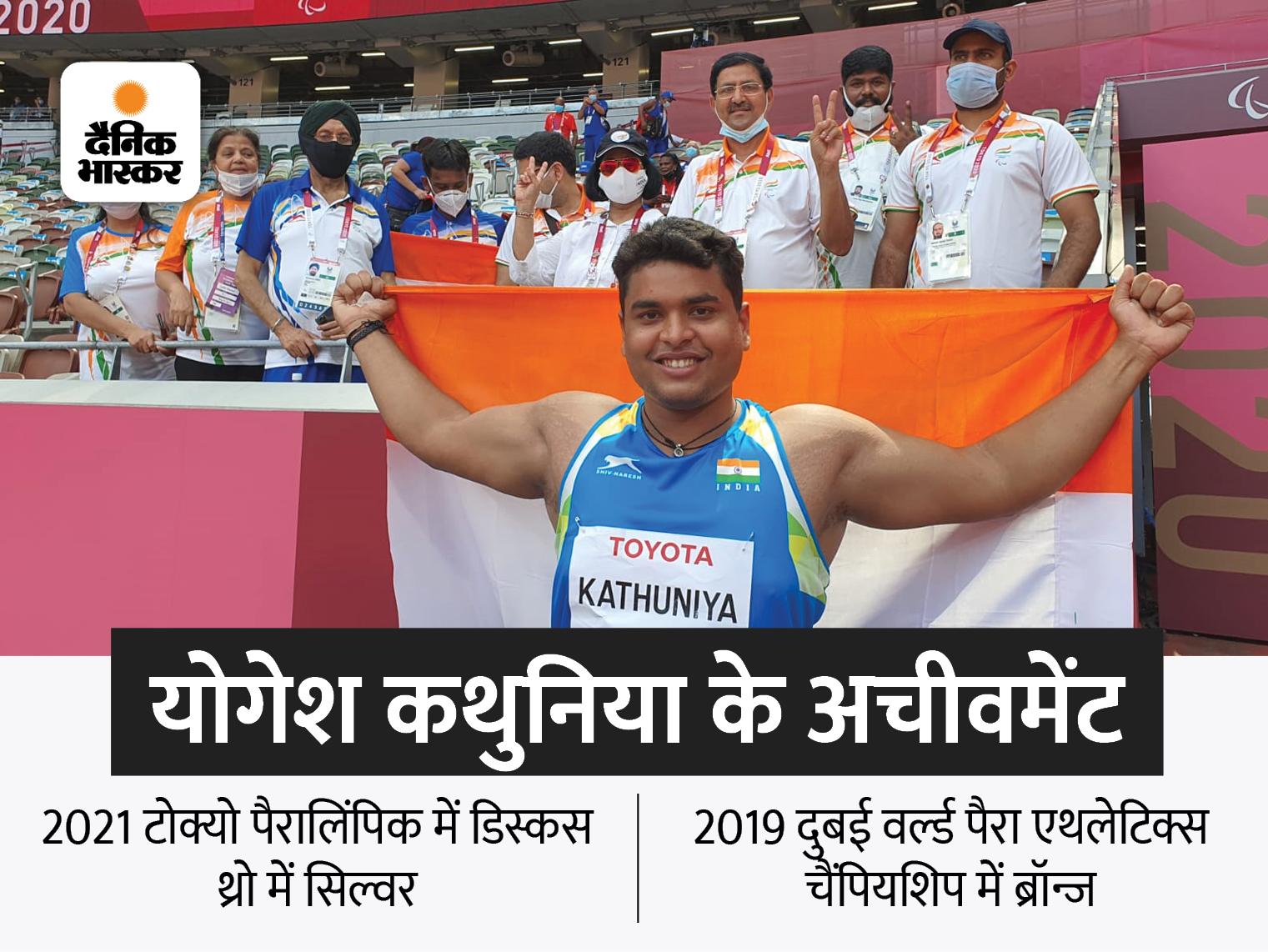 डिस्कस का सिल्वर जीतने पर कहा- लक्ष्य वर्ल्ड रिकॉर्ड बनाना था, तीसरा थ्रो फाउल नहीं होता, तो गोल्ड हमारा होता स्पोर्ट्स,Sports - Dainik Bhaskar