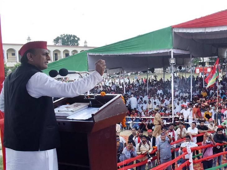 साइकिल यात्रा के बाद सपा की 'संविधान बचाओ' और 'जनादेश यात्रा'के जरिए योगी सरकार को घेरने की तैयारी, सरकार की खामियां गिनाएंगे|लखनऊ,Lucknow - Dainik Bhaskar