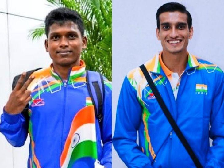 भारत के नाम पहली बार 10 मेडल, हाई जंप में मरियप्पन ने सिल्वर और शरद ने ब्रॉन्ज जीता, शूटर सिंहराज को भी ब्रॉन्ज स्पोर्ट्स,Sports - Dainik Bhaskar