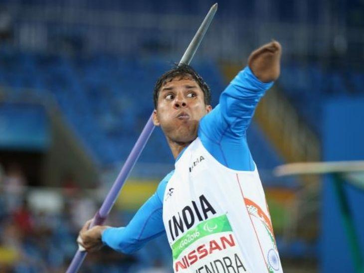 हाईटेंशन वायर की चपेट में आने के बाद बाएं हाथ को काटना पड़ा; पहले लकड़ी के भाले से करते थे प्रैक्टिस, वाइफ कबड्डी प्लेयर|स्पोर्ट्स,Sports - Dainik Bhaskar