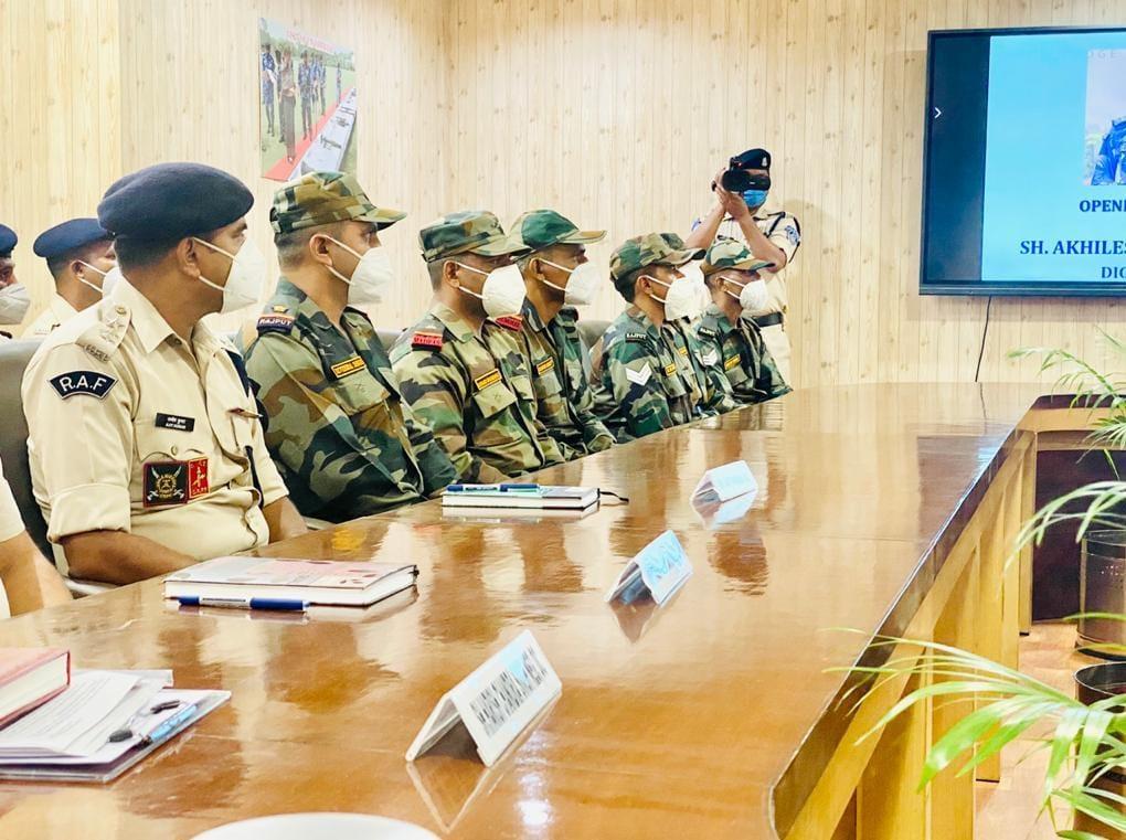 संयुक्त राष्ट्र मिशन पर जाने से पहले सेना का दल मेरठ पहुंचा, देश के एक मात्र दंगा नियंत्रण संस्थान में ट्रेनिंग शुरू मेरठ,Meerut - Dainik Bhaskar