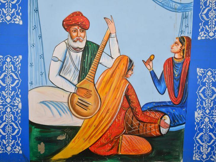 राजस्थान में संगीत का अपना एक अलग महत्व है। ढोलक सितार के साथ राजस्थान के संगीत के प्रति प्रेम की झलक भी इन दिवारों पर देखने को मिलेगी। जोधपुर घूमने आए पर्यटक इस दीवारों में मारवाड़ के हर रंग को देख सकेंगे।